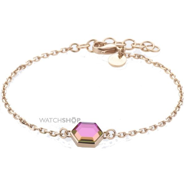 Ladies STORM Rose Gold Plated Mimoza Bracelet MIMOZA-BRACELET-ROSE-GOLD