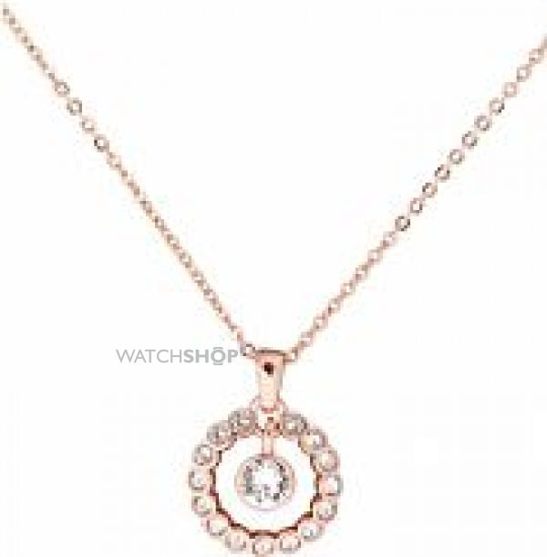 Ladies Ted Baker Rose Gold Plated Cadhaa Concentric Crystal Pendant TBJ1316-24-02