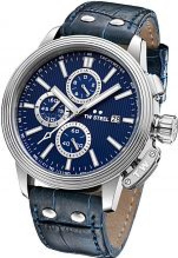 Mens TW Steel Adesso Chronograph 45mm Watch CE7007