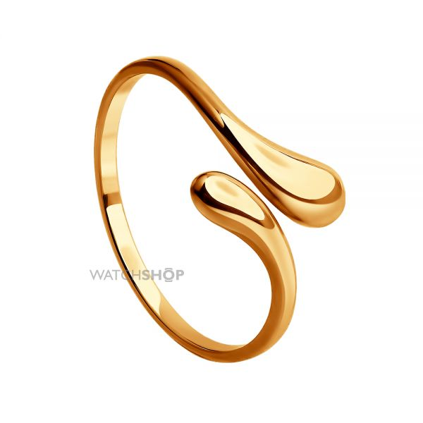 Ladies Sokolov 14 Carat Gold Size N Geometric Ring 61011001