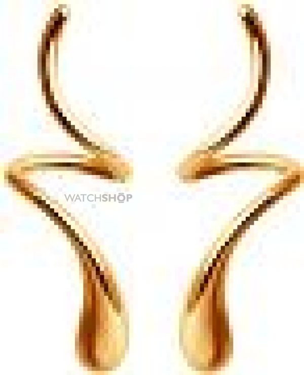 Ladies Sokolov 14 Carat Gold Geometric Stud Earrings 61021009