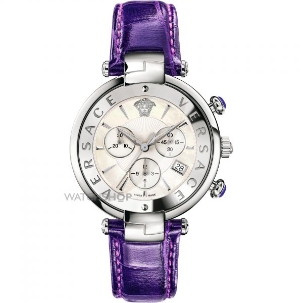 Ladies Versace Rave Chronograph Watch VAJ030016