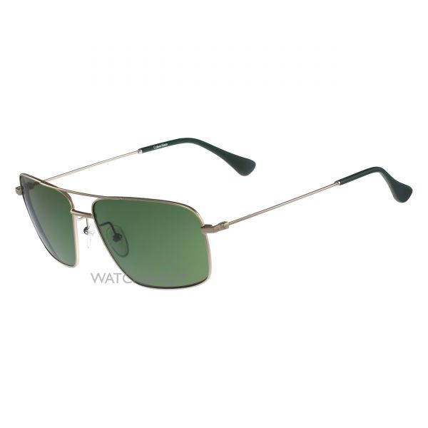 Calvin Klein Gold Plated CK2142S Sunglasses CK2142S-745