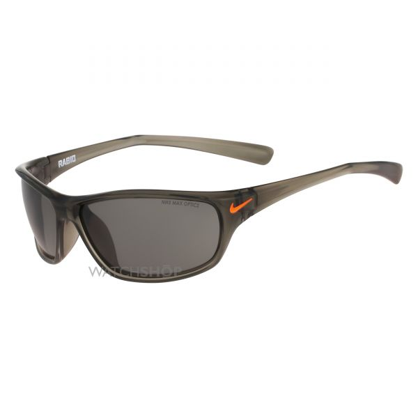 Nike Matte Deep Pewter/Total Orange Rabid Sunglasses EV0603-208