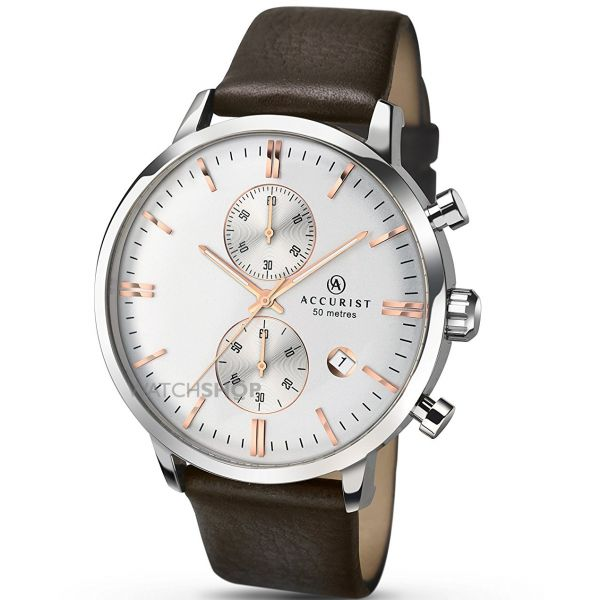 Mens Accurist Chronograph Watch 7078