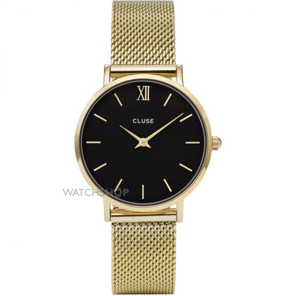 Ladies Cluse Minuit Mesh Watch CL30012