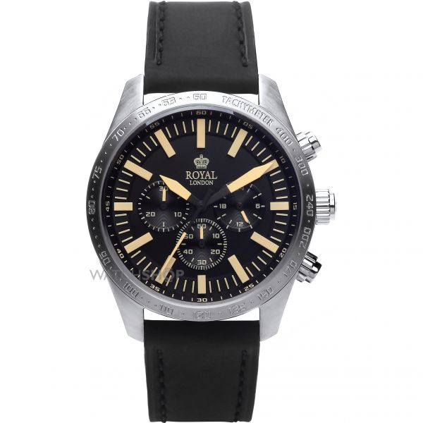 Mens Royal London Chronograph Watch 41365-01