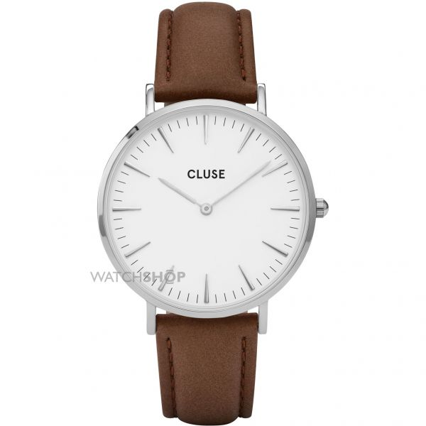 Cluse Ladies La Boheme Silver Watch CL18210
