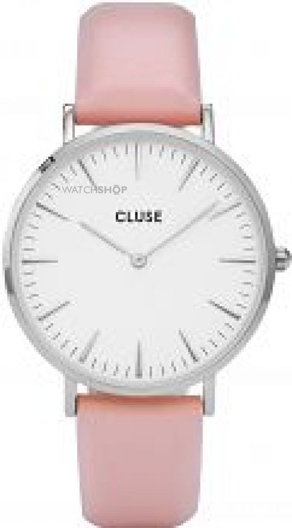 Ladies Cluse La Boheme Silver Watch CL18214