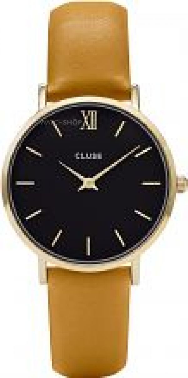 Ladies Cluse Minuit Gold Watch CL30035