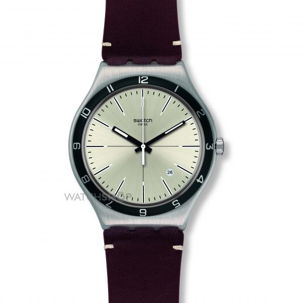 Mens Swatch Four Stitches Watch YWS423