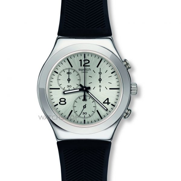 Mens Swatch Neramente Chronograph Watch YCS111C
