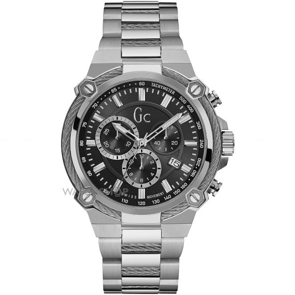 Mens Gc Cable Force Chronograph Watch Y24003G2