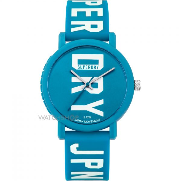 Ladies Superdry Campus Fluro Block Watch SYL196UW