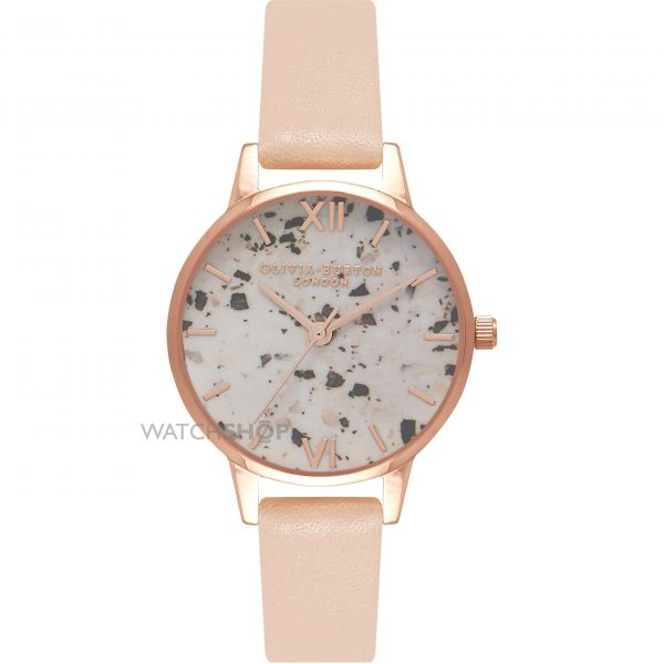 Ladies Olivia Burton Vintage Marble Watch OB16VM01