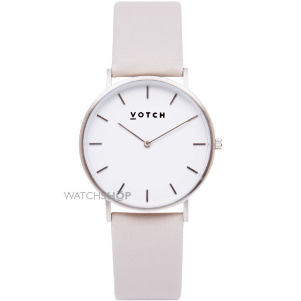 Unisex Votch The Light Grey and Silver 38mm Watch VOT0001