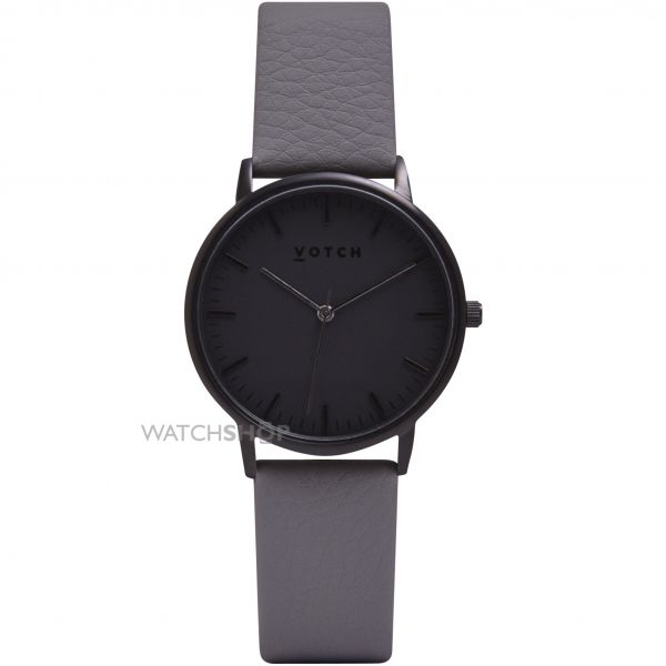 Votch The All Black And Slate Grey 36mm Watch VOT0017