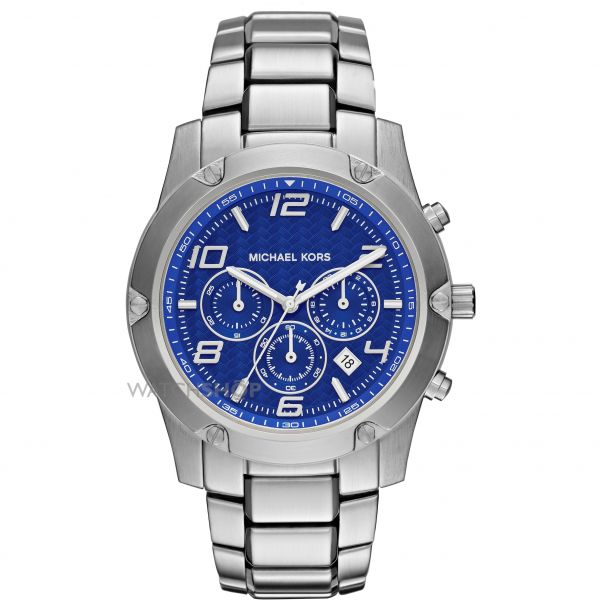 Mens Michael Kors Caine Chronograph Watch MK8487