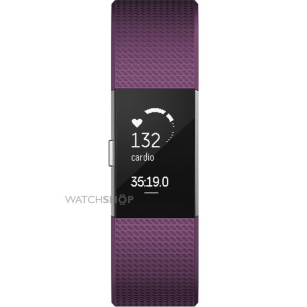 Unisex Fitbit Charge 2 Bluetooth Fitness Activity Tracker Watch FB407SPMS-EU