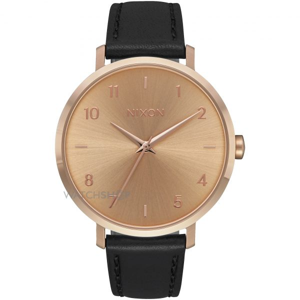 Ladies Nixon The Arrow Leather Watch A1091-1098