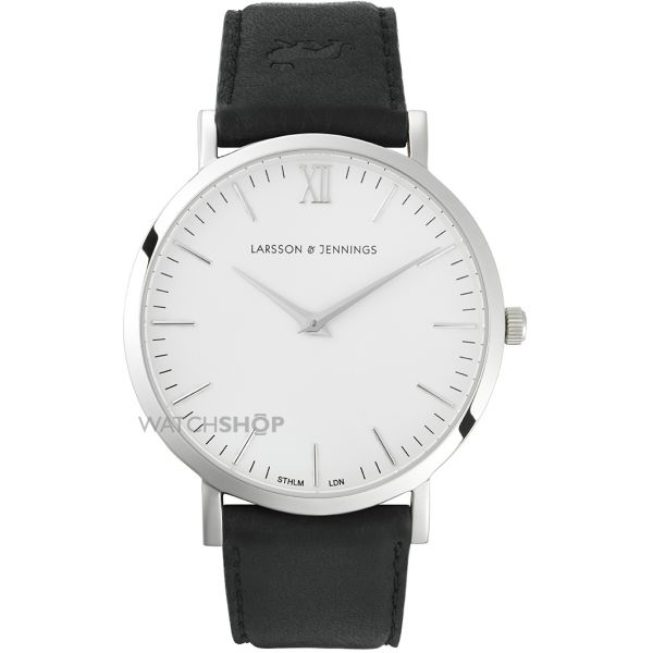 Unisex Larsson & Jennings Lugano 40mm Watch LJ-W-MORKT-L-SW