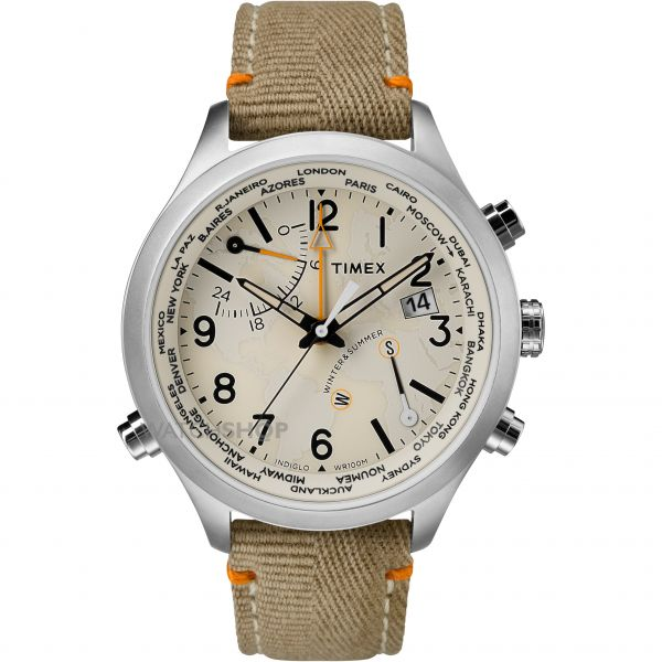 Mens Timex The Waterbury Intelligent Quartz Chronograph Watch TW2R43300
