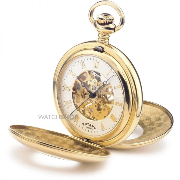 Rotary Pocket Skeleton Mechanical Watch MP00713/01