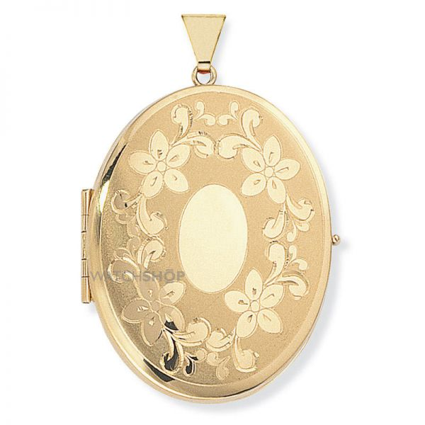Four-Picture Oval Family Locket