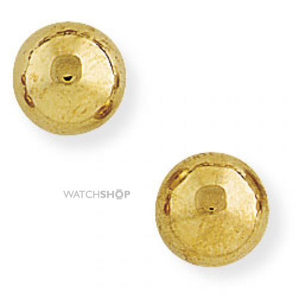 8mm Ball Stud Earrings