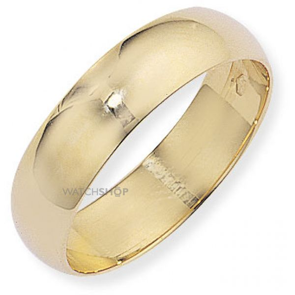 6mm D-Shaped Band Size Y