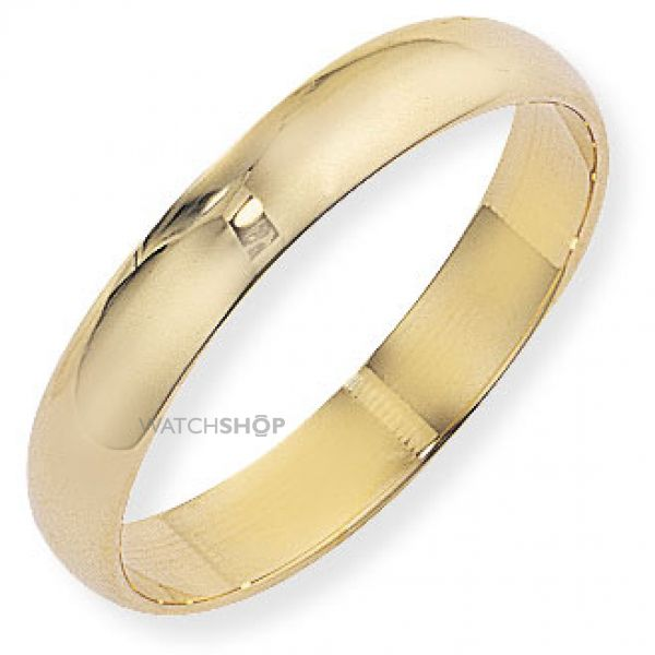 4mm Essential D-Shaped Band Size R
