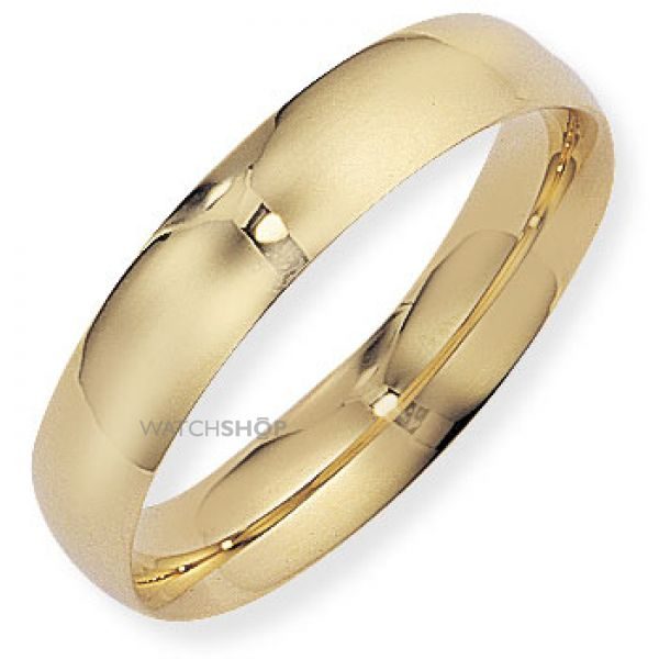 5mm Court-Shaped Band Size L