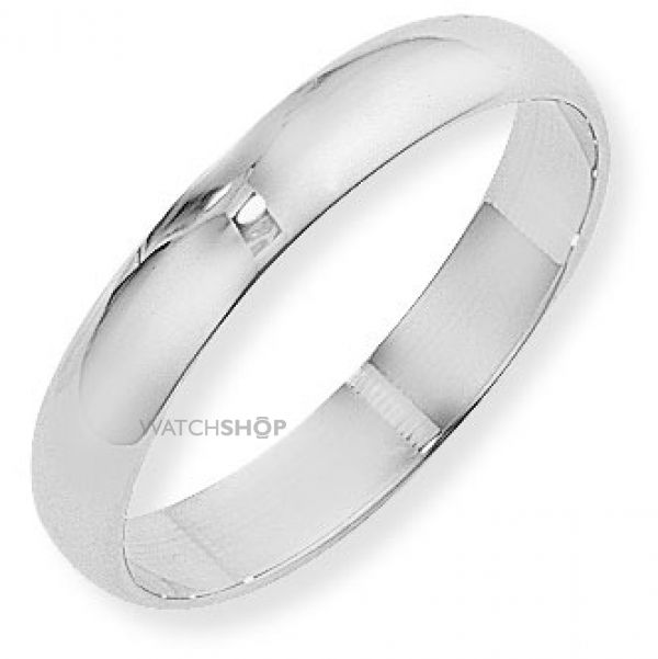 4mm D-Shaped Band Size Q
