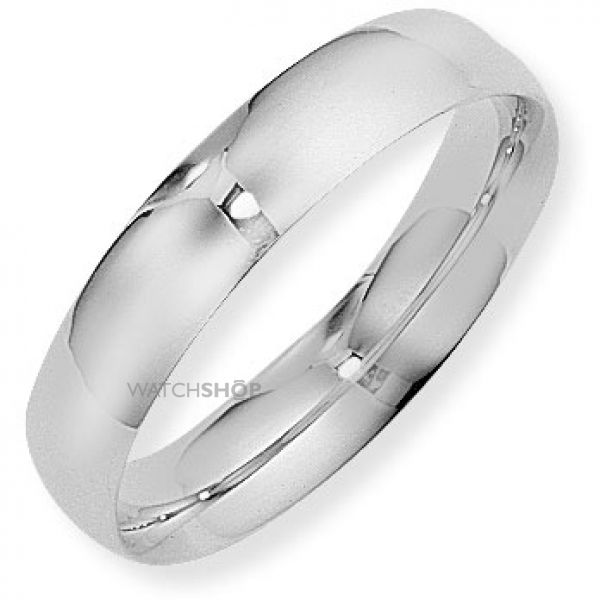 5mm Court-Shaped Band Size R