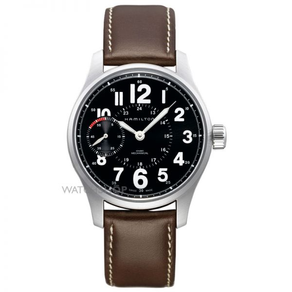 Mens Hamilton Khaki Field Officer Mechanical Watch H69619533