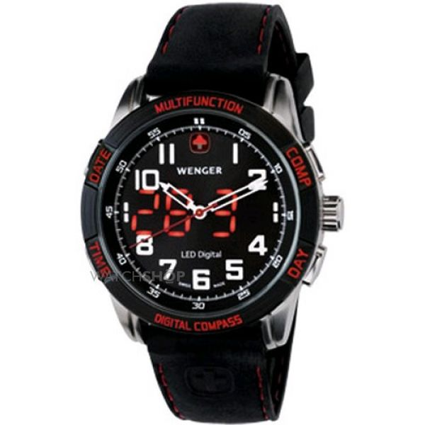 Mens Wenger LED Nomad Watch 70430