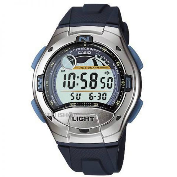 Casio Gents Sports Alarm Chronograph Watch W-753-2AVES