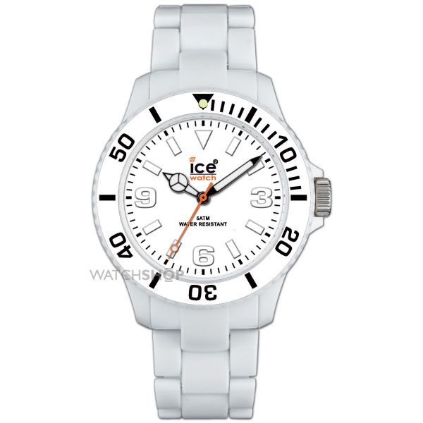 Unisex Ice-Watch Classic Solid White Mid Watch CL.WE.U.P