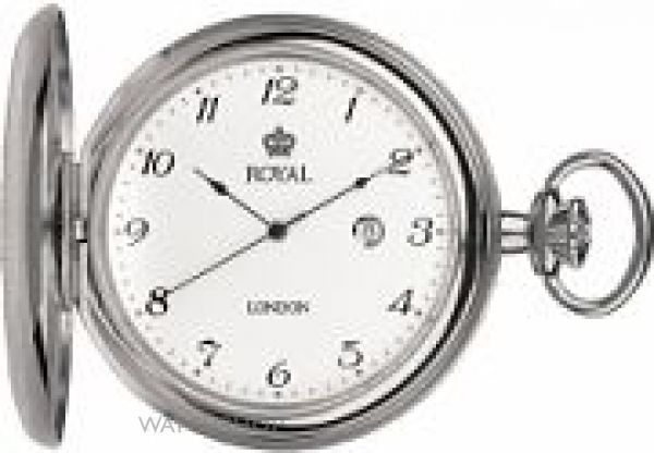 Royal London Full Hunter Pocket Watch 90000-01