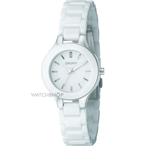 Ladies DKNY Stanhope Ceramic Watch NY4886