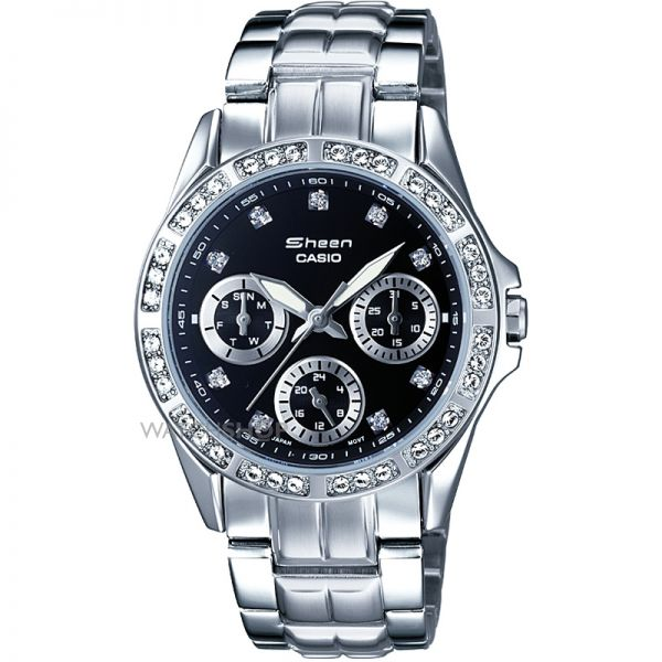 Ladies Casio Sheen Watch SHN-3013D-1ADF