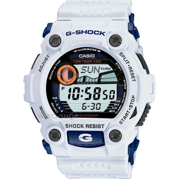 Mens Casio G-Shock G-Rescue Alarm Chronograph Watch G-7900A-7ER