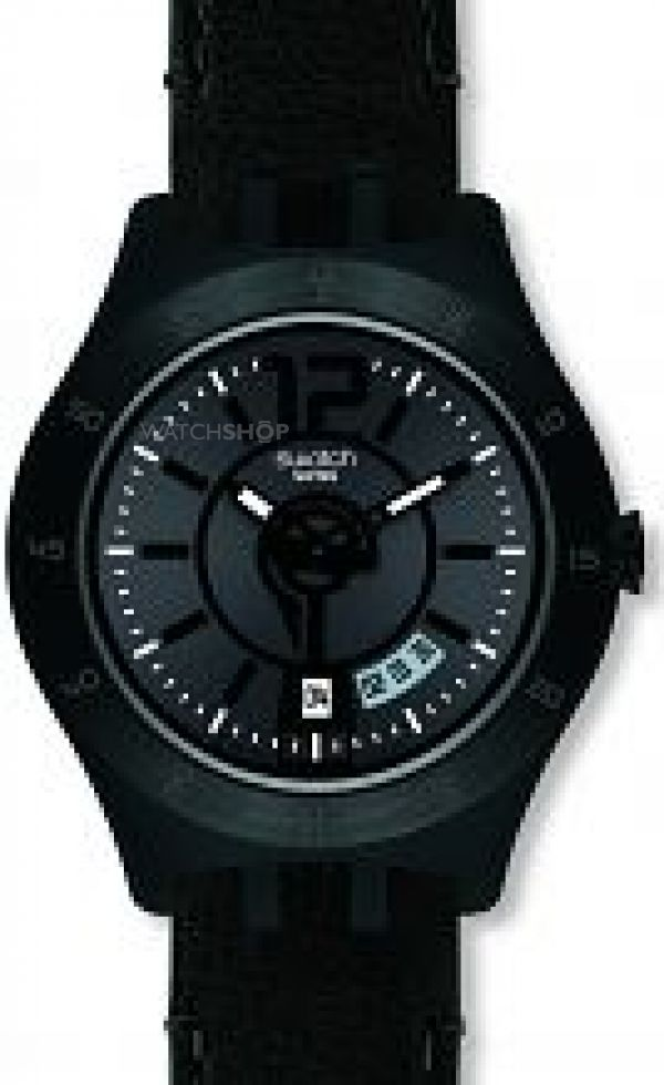 Mens Swatch In A Stately Mode Watch YTB400
