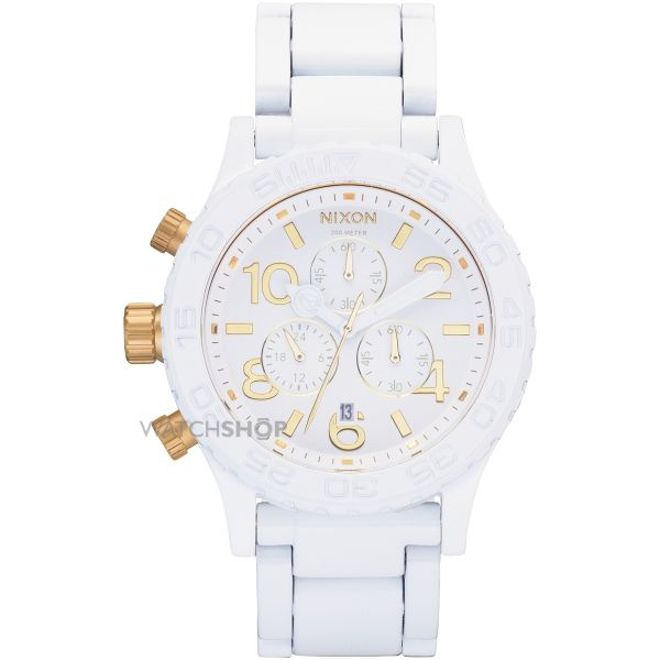 Ladies Nixon The 42-20 Chrono Chronograph Watch A037-1035