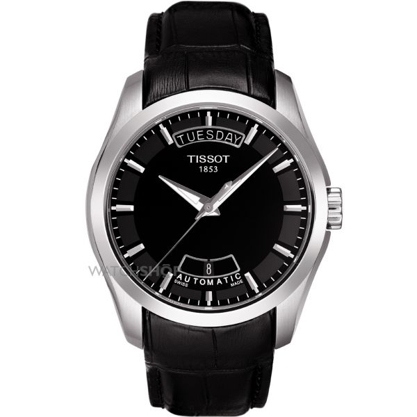Mens Tissot Couturier Auto Automatic Watch T0354071605100