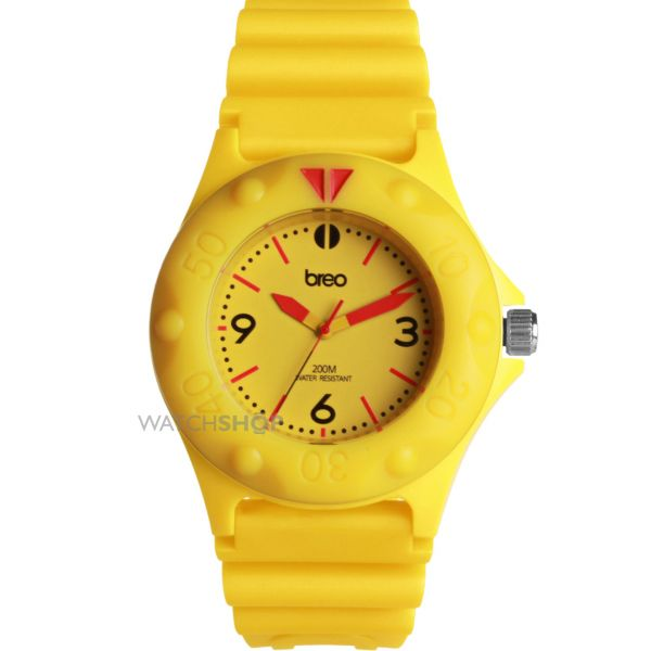 Mens Breo Pressure Yellow Watch B-TI-PRS6