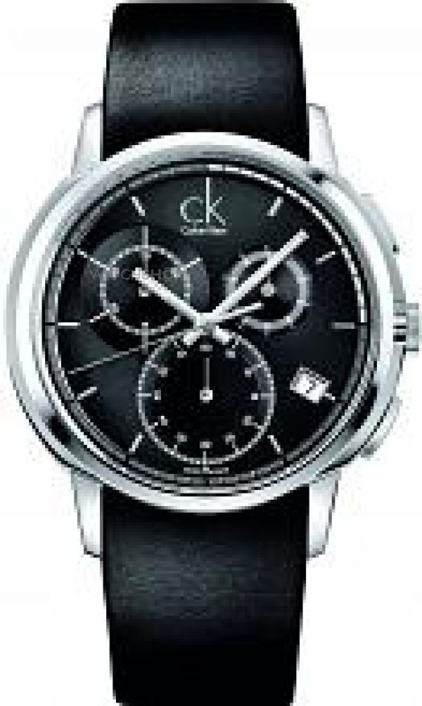 Mens Calvin Klein Drive Chronograph Watch K1V27102