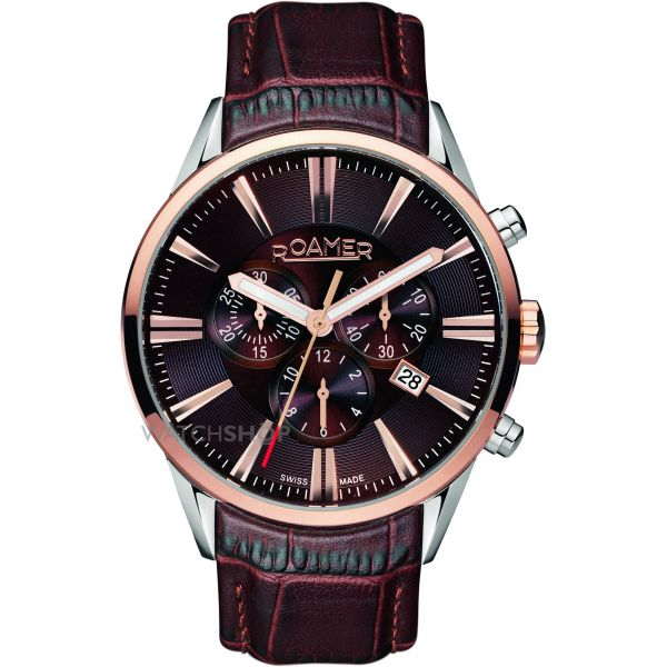 Mens Roamer Superior Chronograph Watch 508837416505