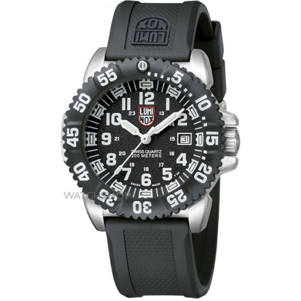 Mens Luminox Navy SEAL Steel Colormark 3150 Series Watch A3151