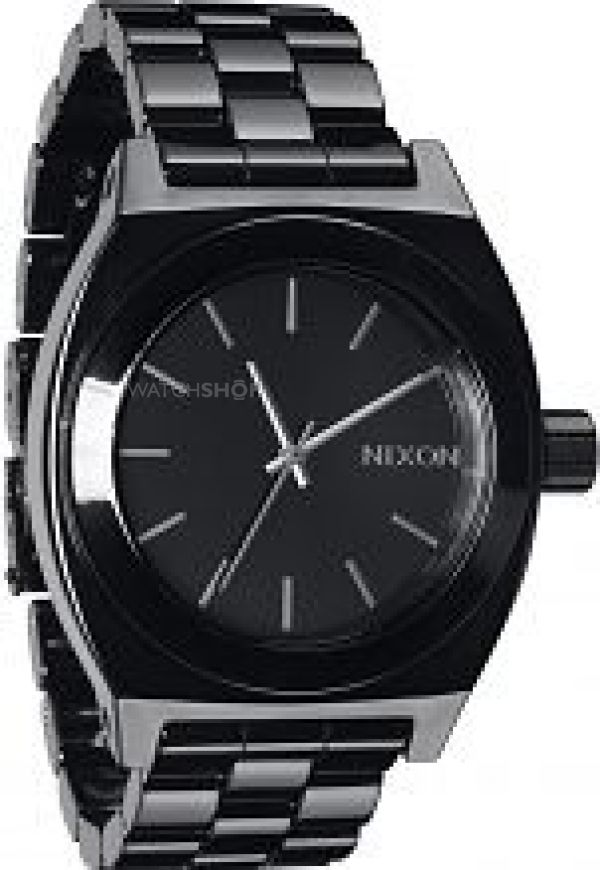 Unisex Nixon The Ceramic Time Teller Ceramic Watch A250-1000